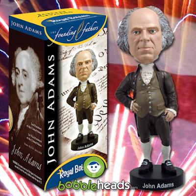 President John Adams Bobblehead