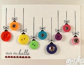 http://manualidadesreciclables.com/12765/postal-navidena-con-botones-de-colores