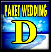 WEDDING PAKET D
