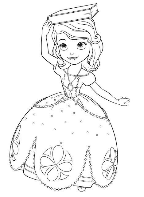 Disegno principessa Sofia