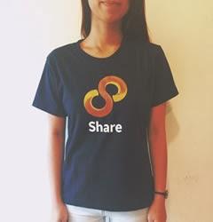 T-shirt, 8share, hadiah, menarik, duit, sampingan, online