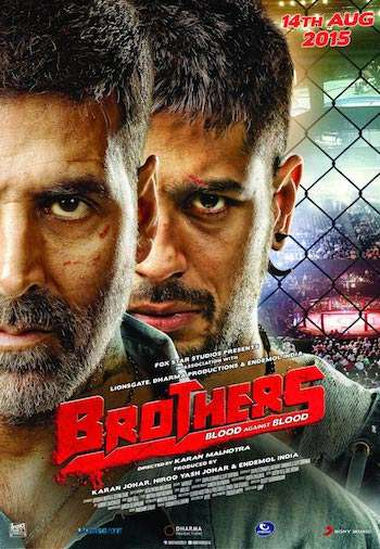 Brothers 2015 Hindi DVDRip Movie
