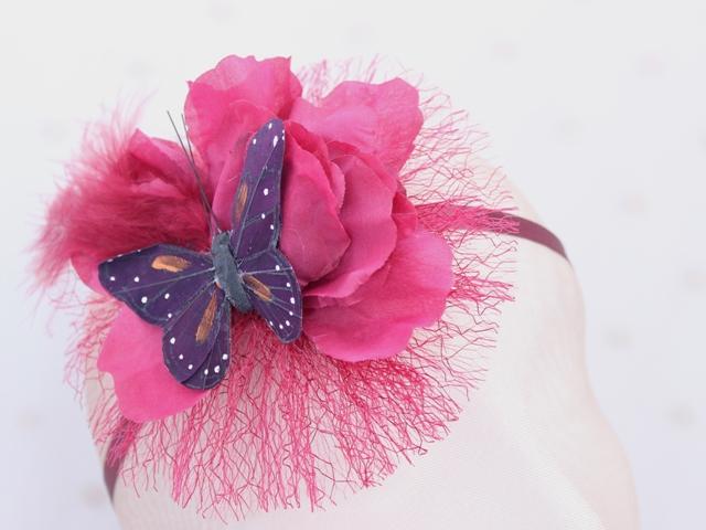 Colección Pedaleando - Banda Cinta mariposa Granate