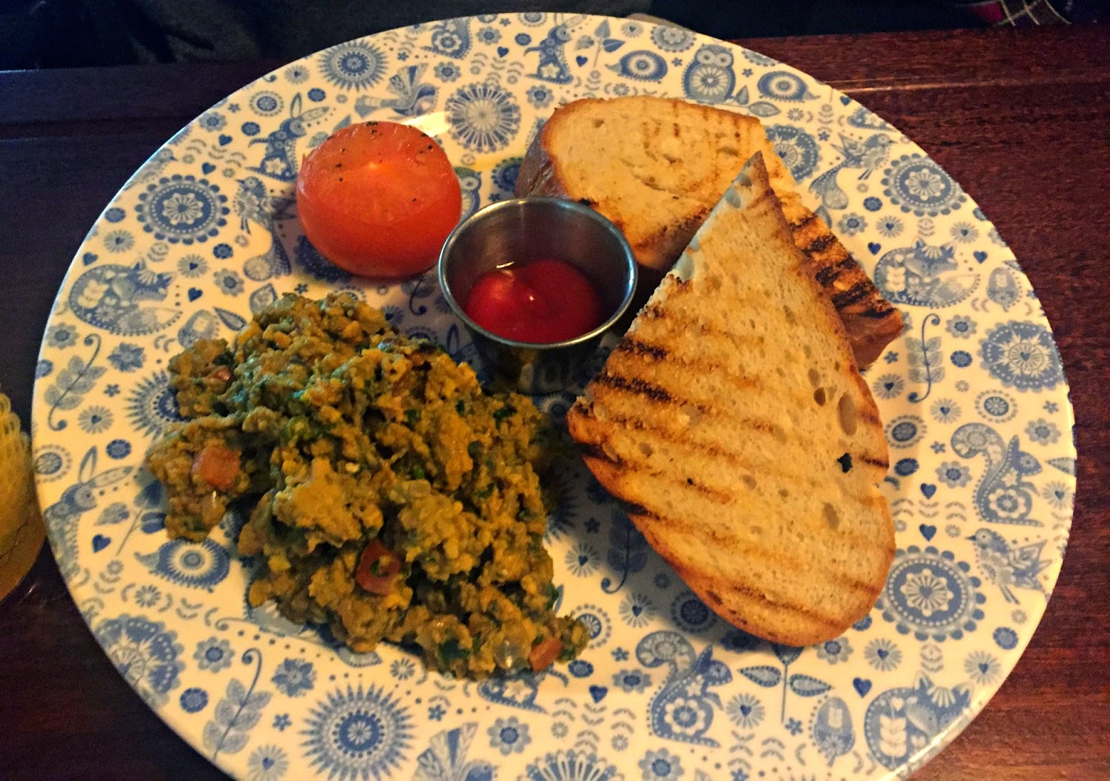 Spicy Eggs Dishoom