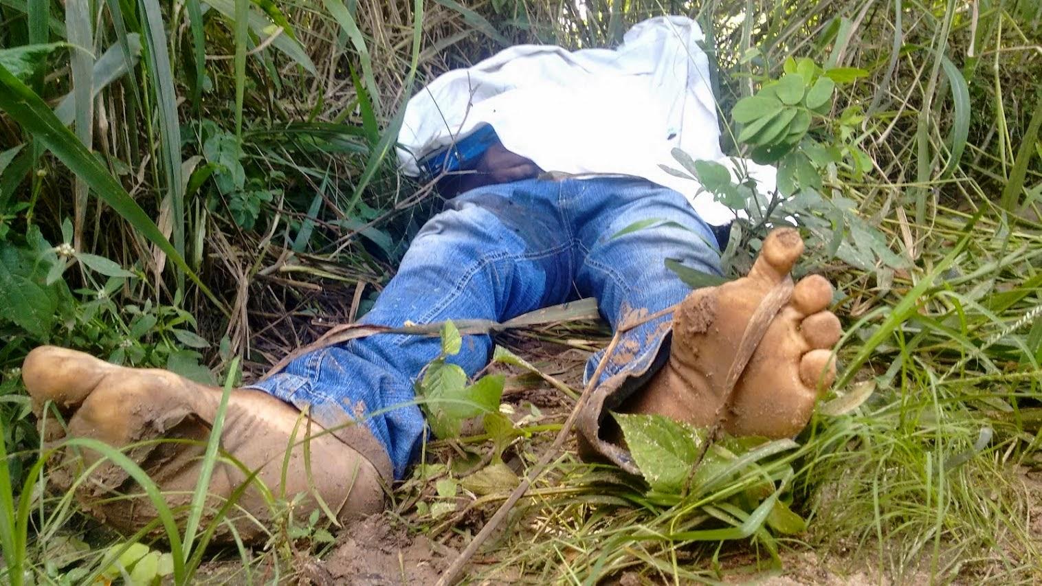 Radialista Djalma Santos da Concei§£o é sequestrado e executado