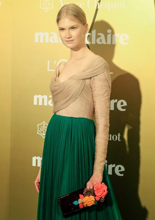 Anna Martinova vestida de Delpozo