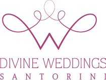 """Divine Weddings"" Consultants in Santorini"