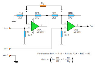 high impedance balance output circuit wiring diagram remote control