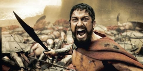 Gerard Butler as King Leonidas with Nice Beard Style
