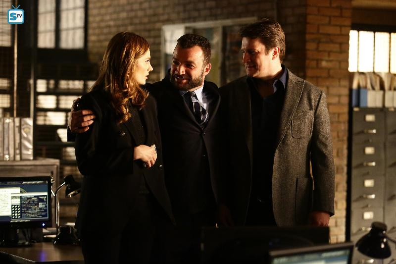 Castle - Episode 8.11 - Dead Red - Promotional Photos & Press Release *Updated*