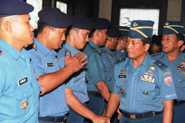 67 Perwira Koarmatim Naik Pangkat