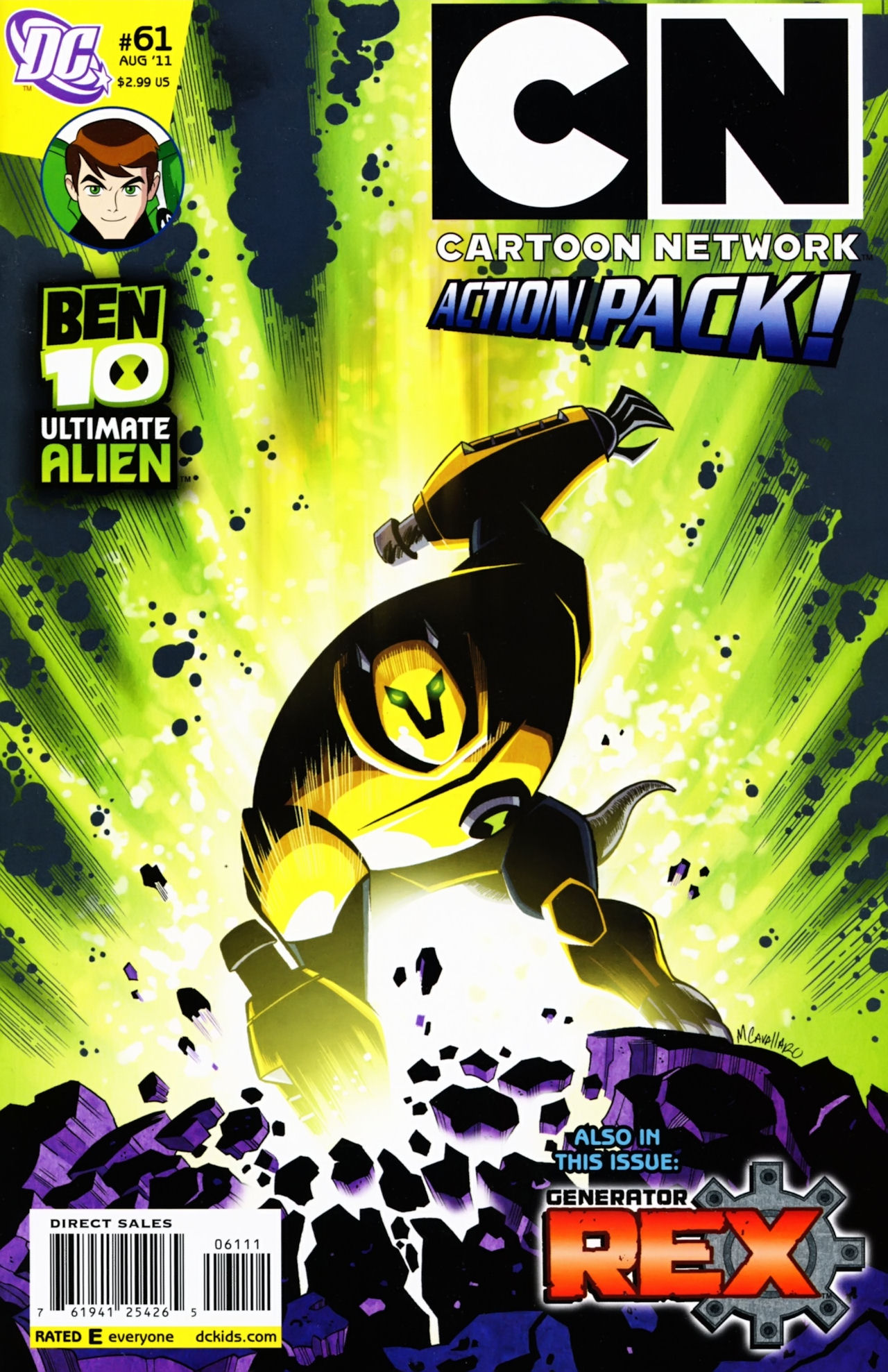Cartoon Network Action Pack 61 Page 1