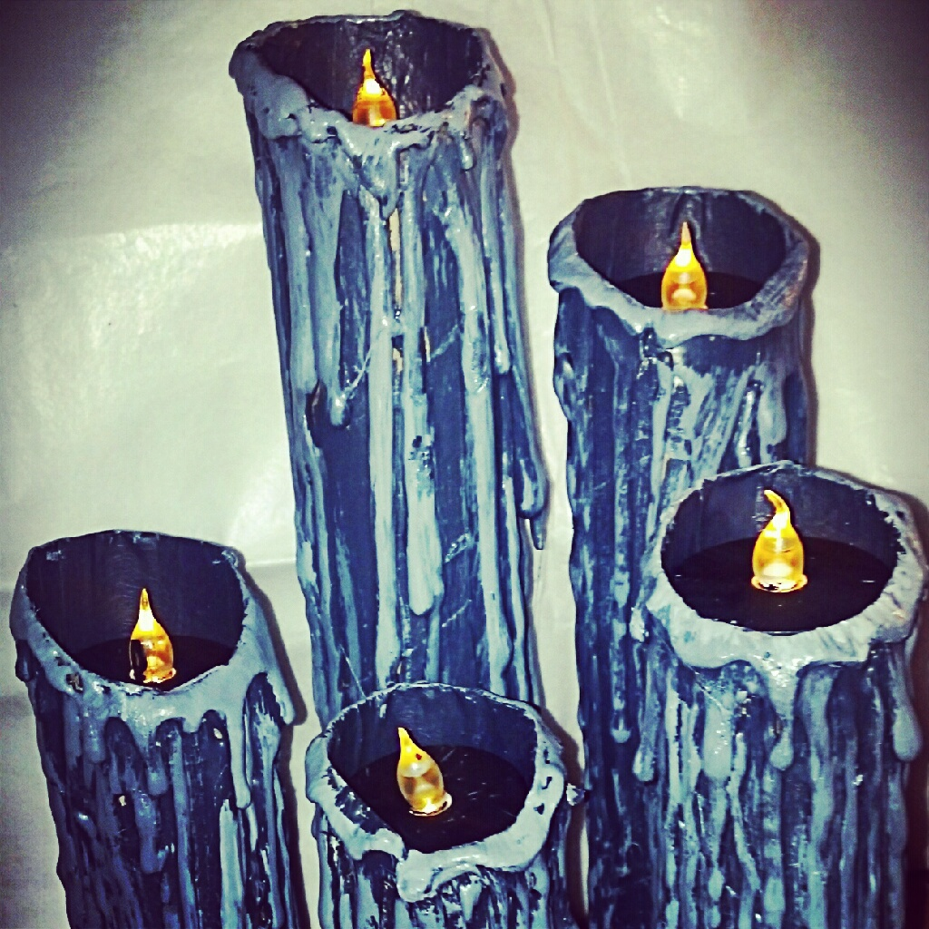 amber dawn of the dead toilet paper roll candles