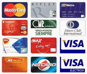 forma de pago con tarjeta