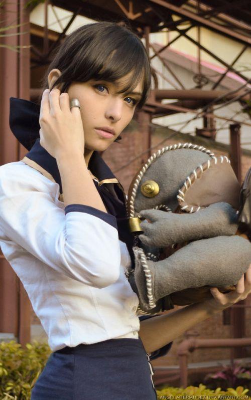 Angela Bermúdez deviantart incríveis cosplays filmes games linda nerd Elizabeth (Bioshock Infinite)