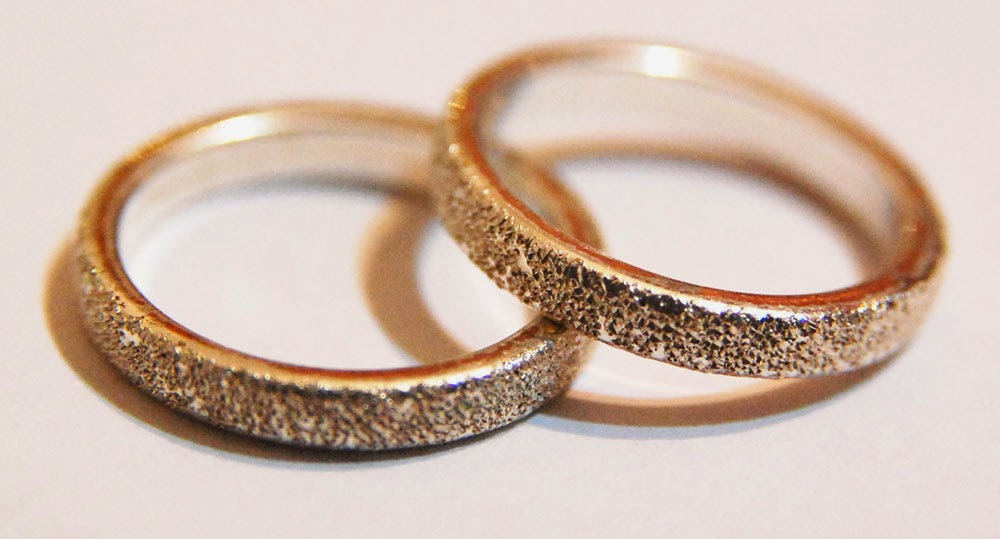 Gay Wedding Rings Sets Rose Gold NYC Design pictures hd