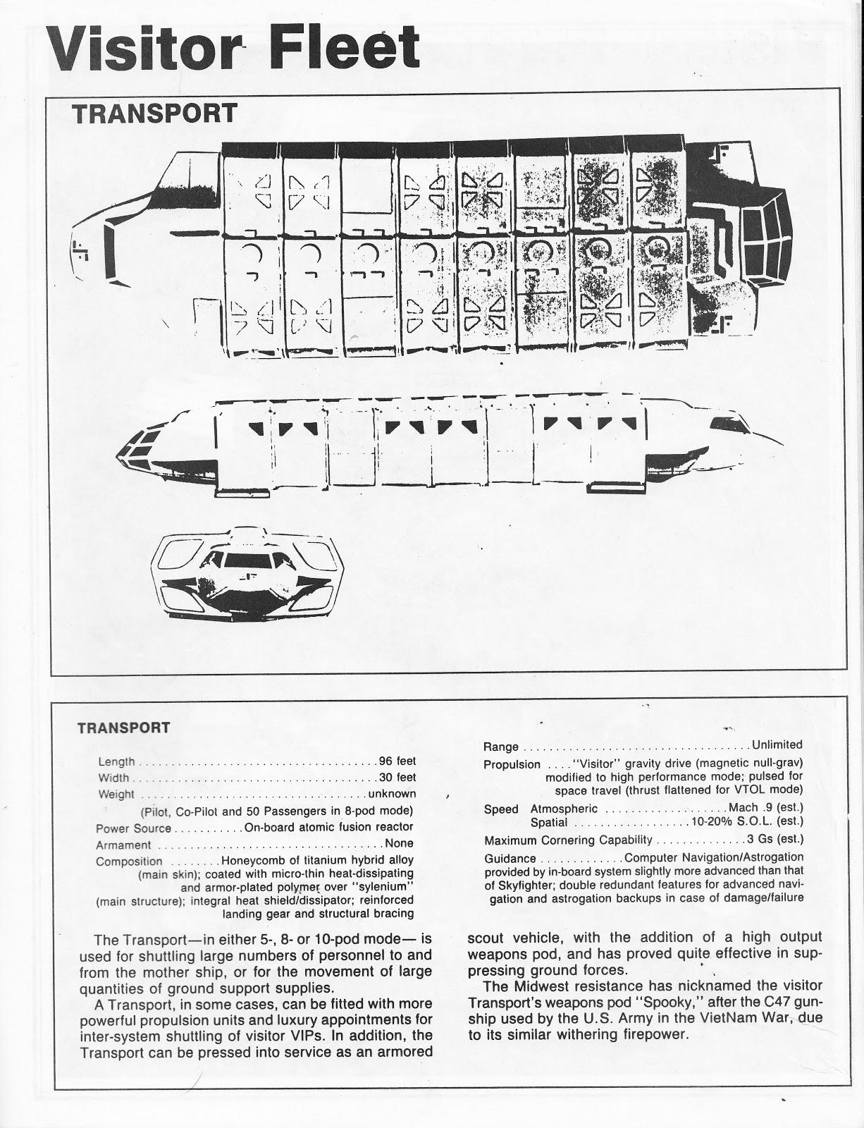 starlogged geek media again 1985 v the visitor technical rh starlogged blogspot com Army Technical Manuals Technical Manual Clip Art
