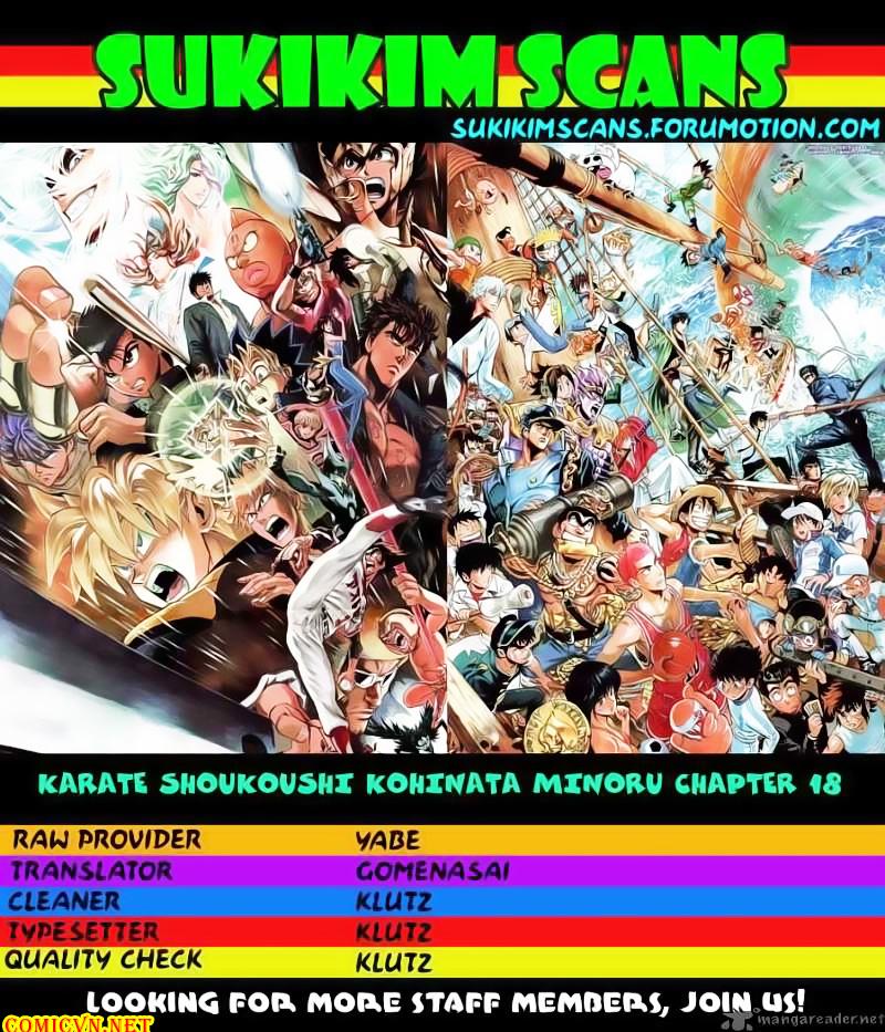 Karate Shoukoushi Kohinata Minoru chap 18 Trang 2