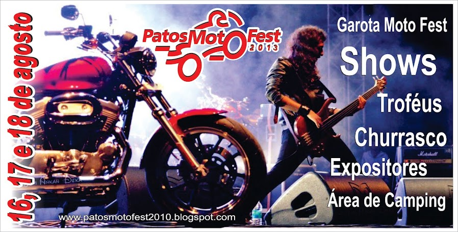 PATOS MOTO FEST 2012