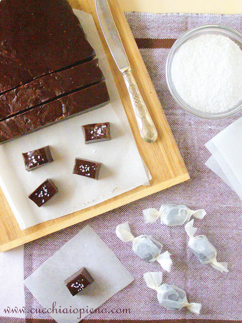 Bala caseira deliciosa feito com chocolate e mel