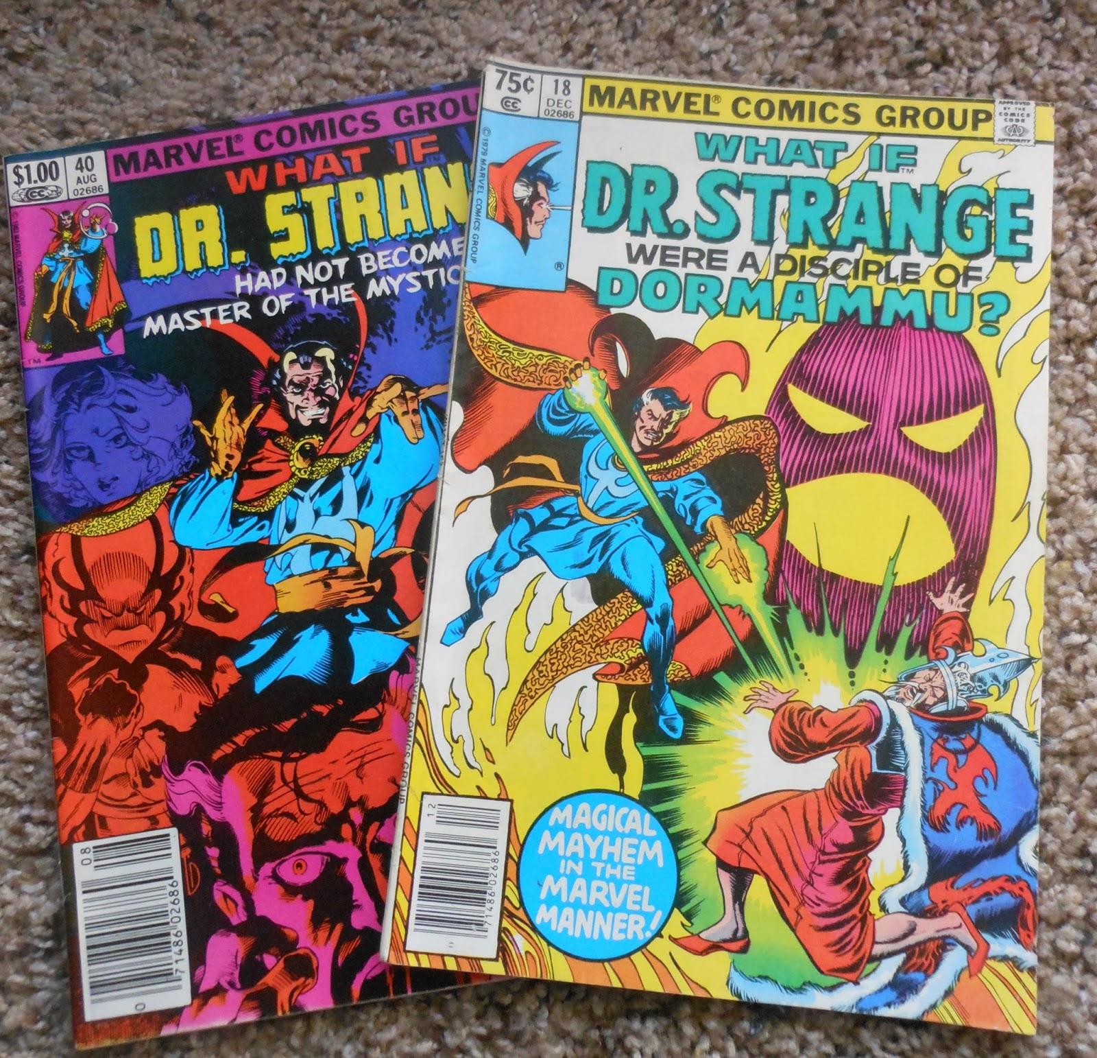 doctor strange vintage comics