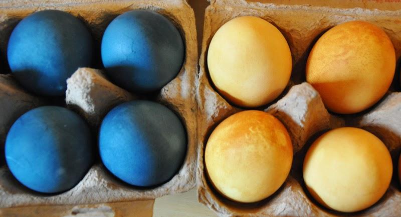Eierdeko und Hasenfärben - äh, andersrum! | Natürlich gefärbte Eier