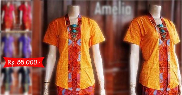 Model Kebaya Batik Amelia