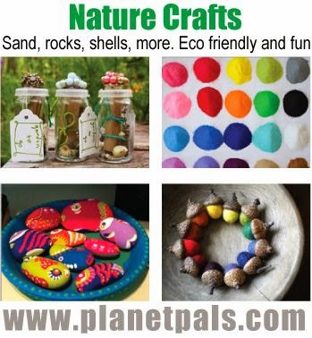 Summer nature crafts ideas for Crafts made from nature