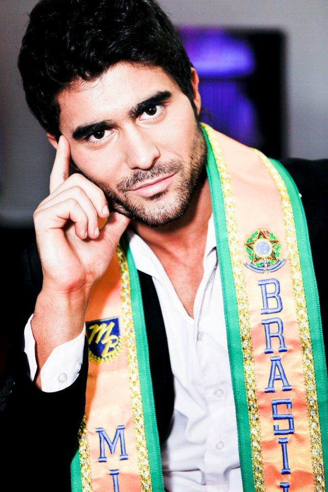 Willian Rech, o Mister Brasil 2012. Foto: Ricardo Lage