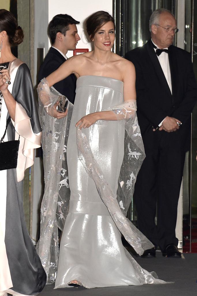 Bal de La Rose 2014: Princess Charlene Wears Akris | The Royal Couturier