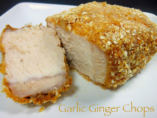 Garlic Ginger Pork Chops