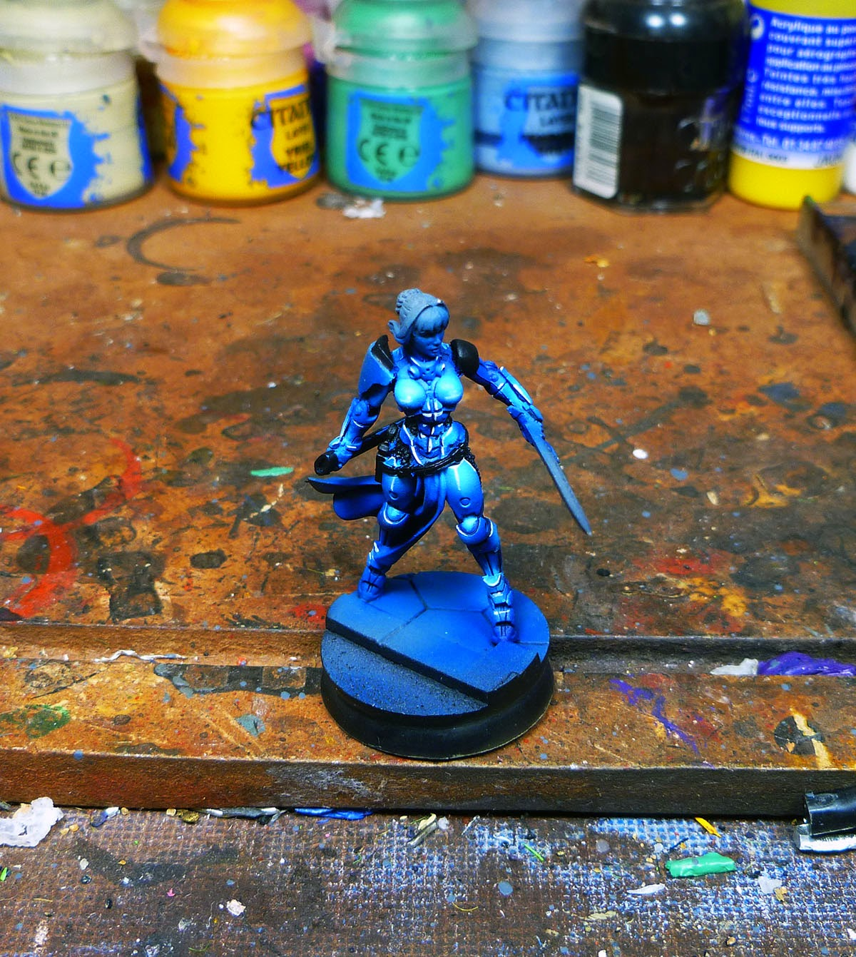 WIP Infinity Panoceania Joan of Arc