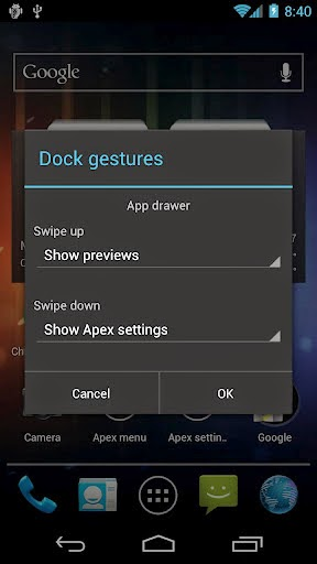 Apex Launcher Pro Full Version