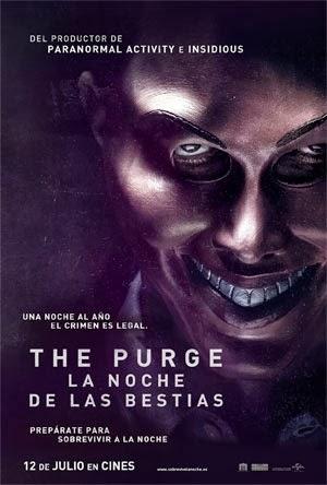 The Purge La noche de las bestias (2013) DVDRip [Español Latino][Un Link][Terror]FS