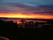 Bruny Island was first sighted by Abel Tasman in 1642. (bruny island sunset)