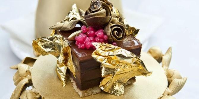 Puding cokelat — 35.000 dolar