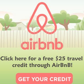 Get $25 FREE for Staying at Airbnb