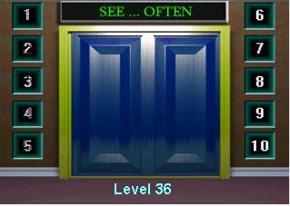 100 doors level 36