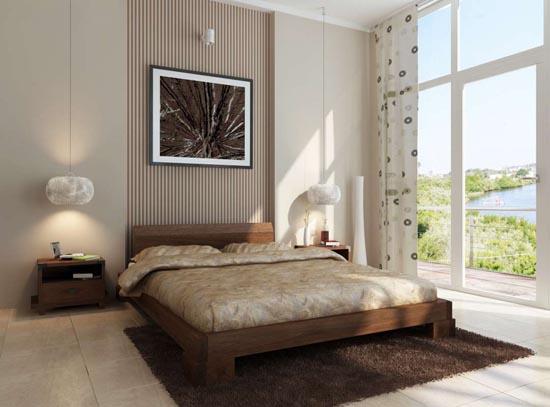 camas en el piso al estilo oriental decorar tu habitaci n. Black Bedroom Furniture Sets. Home Design Ideas