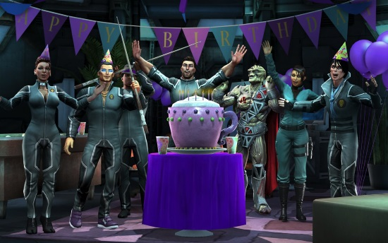 Saints Row: Gat Out of Hell Birthday