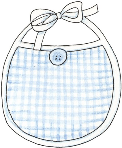 Dibujos de baberos para bebés - Imagui