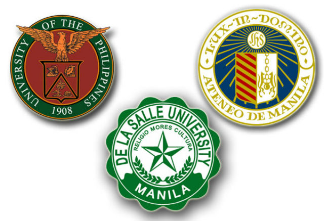 UP, Ateneo, De La Salle drop in world university rankings