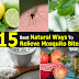 15 Best Natural Ways To Relieve Mosquito Bites