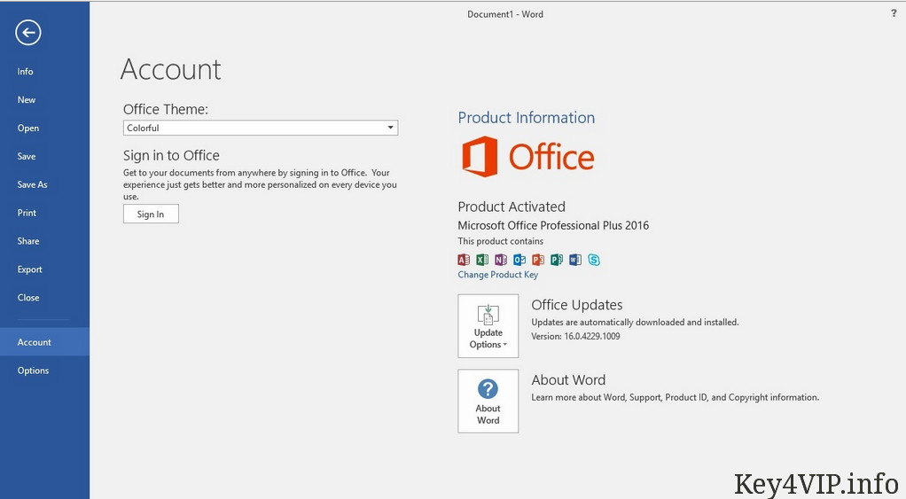 find product key office 2016