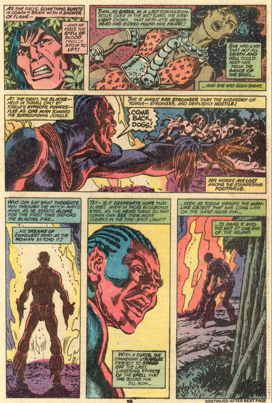 Conan the Barbarian (1970) Issue #83 #95 - English 14