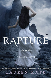 RAPTURE by Lauren Kate Cover Art