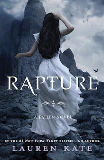 RAPTURE by Lauren Kate Cover Art