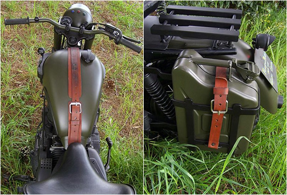 TRIUMPH-GREAT ESCAPE - Steve-McQueen´s-Triumph-Motorcycle