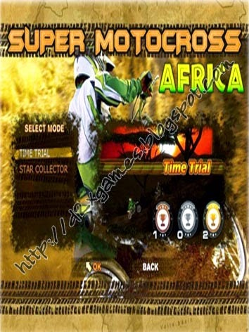 Free Download Games - Super Motocross Africa