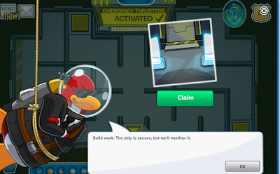 Club Penguin Operation Crustacean Cheats Emergency Thrusters